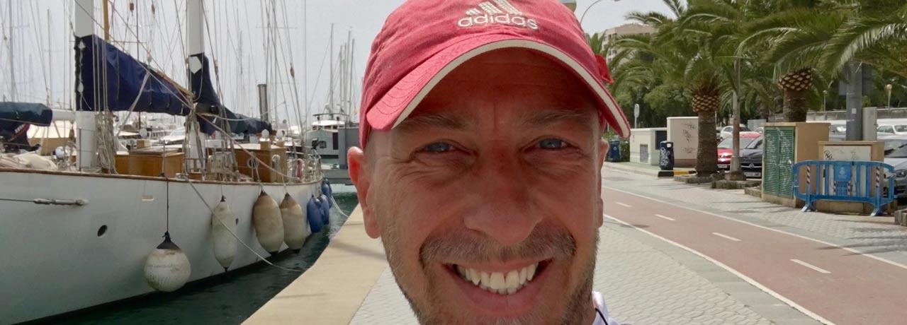 Oliver Benedict in Palma
