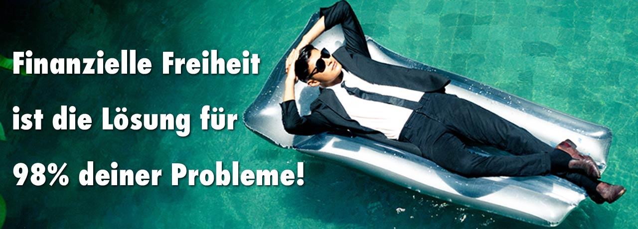 OBENEDICT | Finanzielle Freiheit ist die Lösung für 98% aller deiner Probleme